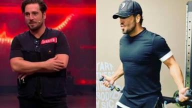Espectacular cambio físico de David Bustamante menos 26 kilos