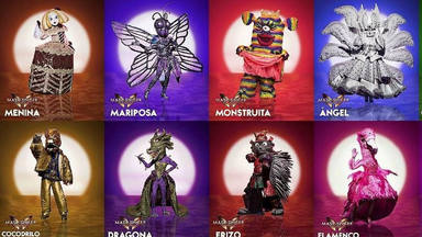 Las 15 máscaras de la segunda edición de 'Mask Singer'