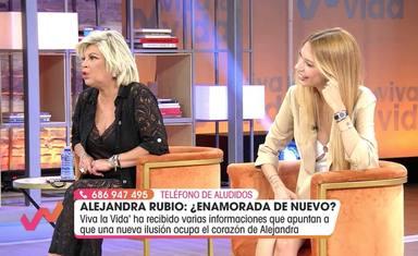 Terelu Campos da la cara por su hija en medio de las informaciones de un nuevo amor tras romper con Álvaro
