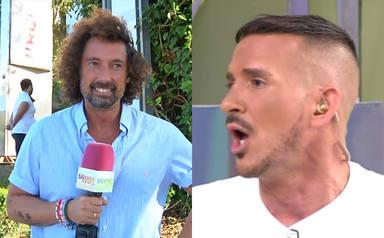 """""""Me parece de ignorantes"""": José Antonio León y Sergi Ferré protagonizan una bronca épica en 'Sálvame'"""