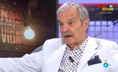 Jesús Mariñas concede una entrevista a 'Diez Minutos' para anunciar que padece cáncer de vejiga