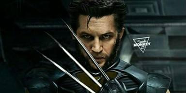 Tom Hardy como Lobezno en 'X-Men'