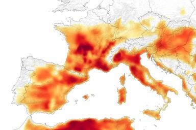 Europa ha viscut el mes de juny més calorós de la seva història