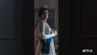 Olivia Colman se pone en la piel de Isabel II en 'The Crown'