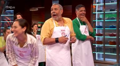 Tamara Falcó y Los Chunguitos en 'Masterchef'