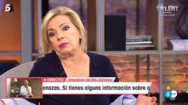 Carmen Borrego se defiende de las críticas en su vuelta a Viva la vida