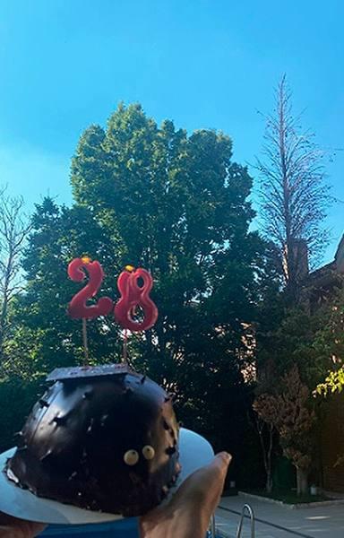 Ana Obregón celebra los 28 años de su hijo