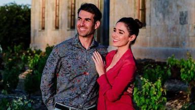 Candela Serrat y Dani Muriel enamorados de su bebé
