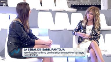 Irene Rosales habla claro sobre si Isabel Pantoja felicitó a su nieta
