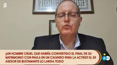 Exasesor David Bustamante habla sobre su relación con Paula Echevarría
