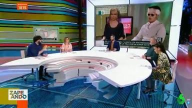 Momento de la polémica tertulia gordófoba en Zapeando