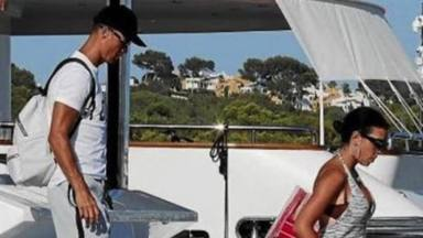 Cristiano Ronaldo y Georgina Rodríguez disfrutan de sus vacaciones entre rumores de embarazo
