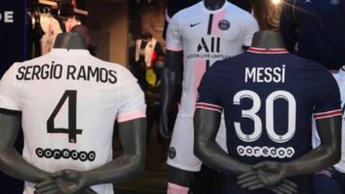 Sergio Ramos y Messi posibles futuros compañeros de casa