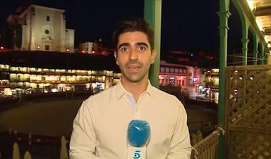 Francisco Almansa, el reportero que le ha dado un zasca épico a un tuitero que ha criticado su conexión