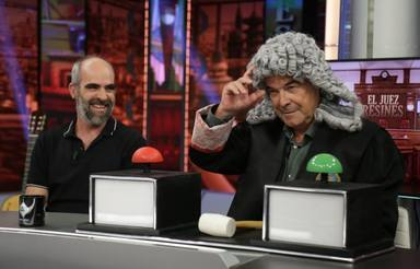 Luis Tosar y Antonio Resines en 'El Hormiguero'