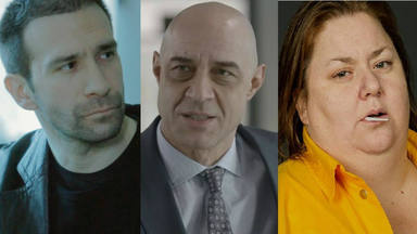 Daniel Ortiz, Ramiro Blas e Itziar Castro en Vis a Vis