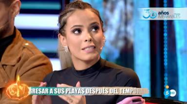 Gloria Camila no está de acuerdo con Ana María Aldón en su conflicto con Rocío Flores