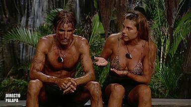 Desamor, un posible embarazo y un enfrentamiento directo; así fue la noche de Hugo e Ivana en 'Supervivientes'