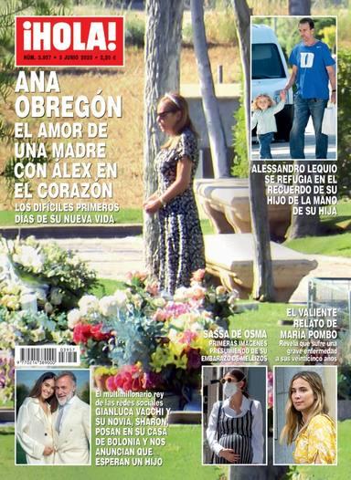 Alessandro Lequio y Ana Obregon afrontan la pérdida de su hijo