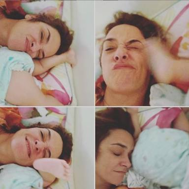 Toñi Moreno, enamorada de su hija Lola