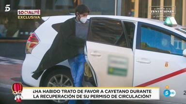 Cayetano Rivera retirada carnet de conducir exceso velocidad