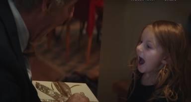 anuncio navidad anciano y su nieta