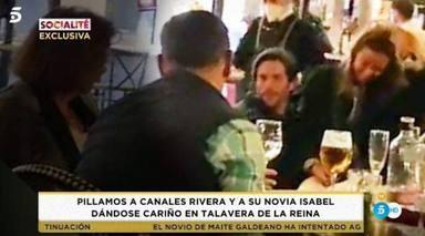 Canales Rivera, pillado de nuevo: salen a la luz las imágenes de la reconciliación con su novia Isabel