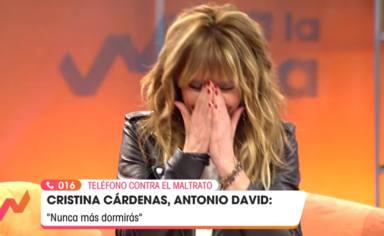 """Emma García, aterrorizada, para el programa tras el testimonio de Cristina Cárdenas: """"No tiene ninguna gracia"""""""