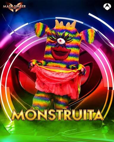 Monstruita, una de las máscaras de Mask Singer 2