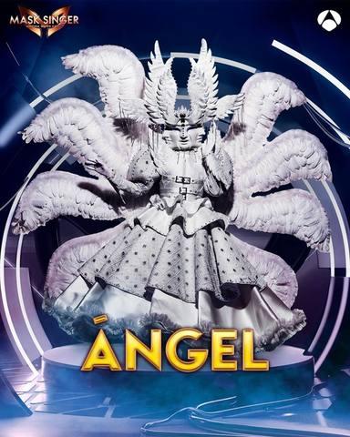 Ángel, una de las máscaras de Mask Singer 2