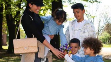 Georgina Rodríguez disfruta de uno de sus momentos más inolvidables junto a sus hijos