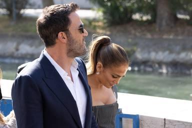 Jennifer Lopez y Ben Affleck, juntos en Venecia