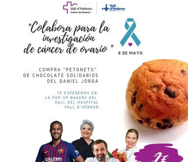 Brioixos de xocolata solidaris a la Vall d'Hebron per lluitar contra el càncer d'ovari.