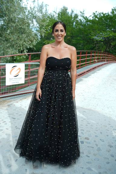 Anabel Pantoja en la boda de Belén Esteban