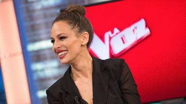 Eva González, presentadora de 'La Voz', en 'El Hormiguero'