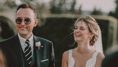 La idílica boda de Laura Escanes y Risto Mejide