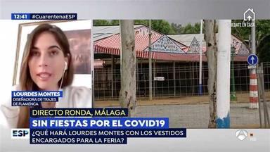 Lourdes Montes en Espejo Público