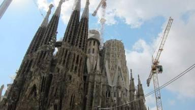 Aturades les obres de la Sagrada Família fins a finals d'any