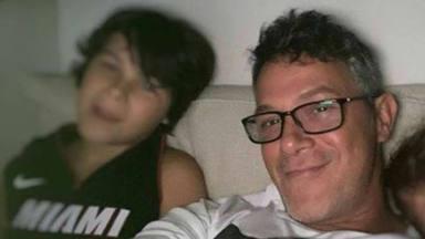Dylan, fan inconcidional de su padre Alejandro Sanz