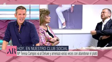Joaquín Prat defiende a Jorge Javier y ataca a María Teresa Campos