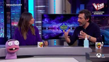 Nuria Roca y su marido y su primera discusión