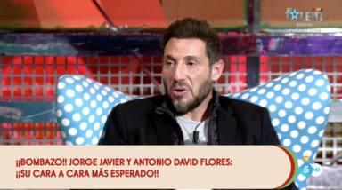 Antonio David Flores le confiesa a Jorge Javier lo que piensa