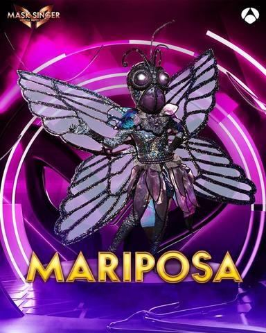 Mariposa, una de las máscaras de Mask Singer 2
