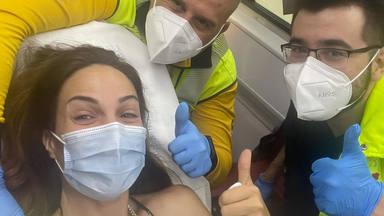 La actriz Nerea Garmendia sufre un accidente