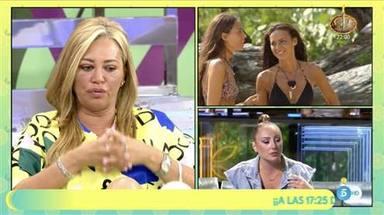 Belén Esteban apunta que Rocío Flores ha seguido una estrategia para llevar a Olga Moreno a la final