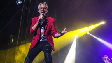 Sergio Dalma sobre el escenario del Concert Music Festival