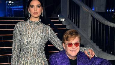 """Elton John, entusiasmado por la colaboración de Dua Lipa: """"Qué días tan increíbles y qué increíble respuesta"""""""