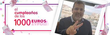 ¡Francisco Troyano de Melilla ha ganado 1.000 euros!