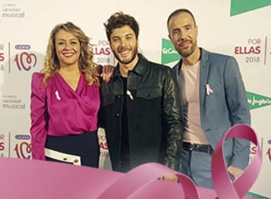 La entrevista a Blas Cantó en el concierto CADENA 100 Por Ellas 2018