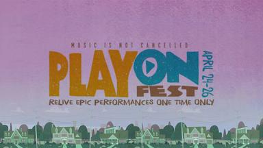 """PlayOn Fest"", un festival de 3 días en apoyo a la OMS"